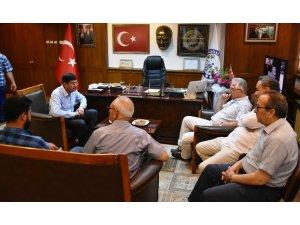 İYİ Partili Arslan'dan Başkan Özcan'a ziyaret