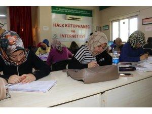 Karaköprü'de öğrenciler sınavlara hazırlanıyor