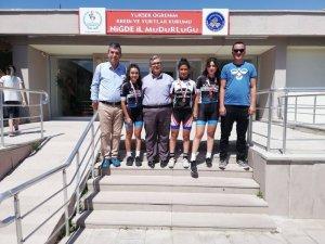 1.Dar Bölge Yol Bisikleti Türkiye Şampiyonası'nda Kayseri Rüzgarı