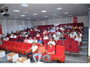 Kozluk'ta okul müdürleri toplantısı yapıldı