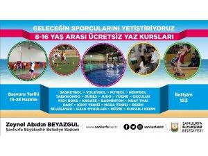Büyükşehirden gençlere yönelik 21 branşta ücretsiz yaz kursu