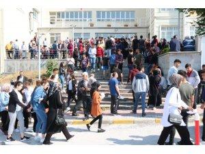 Yozgat'ta YKS heyecanı başladı