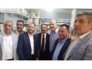 Başkan Beyoğlu, Bakan Soylu ile birlikte İstanbul'da seçim çalışmasına katıldı