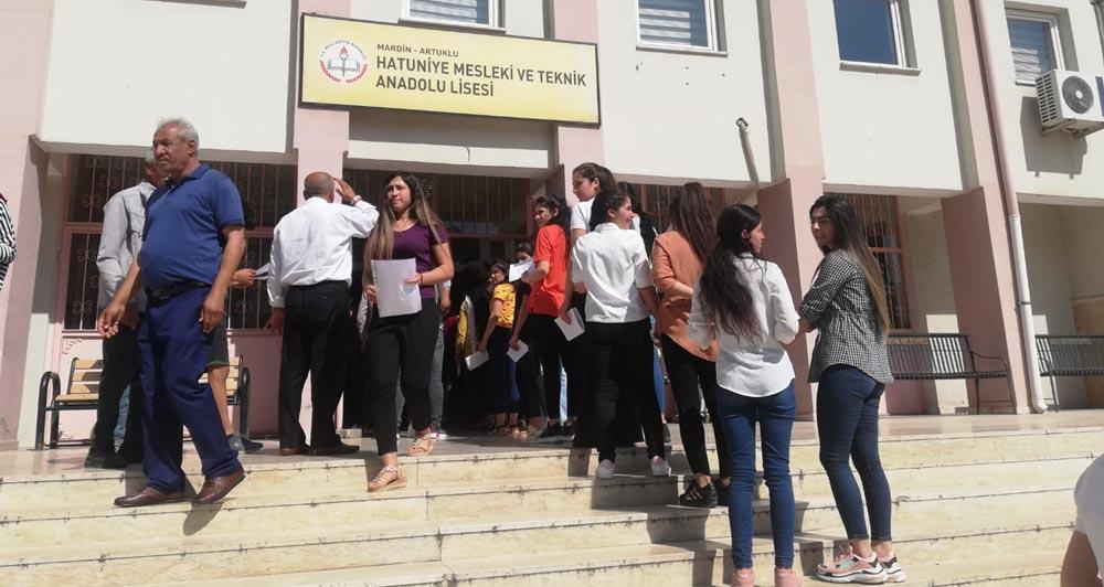 Mardin'de YKS heyecanı