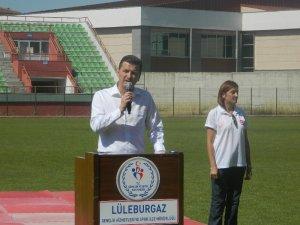 Yaz spor okulları açılış töreni gerçekleştirildi
