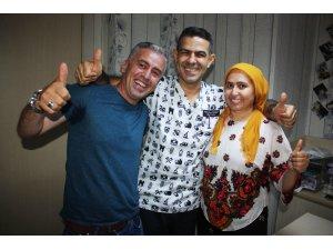 10 yıldır çalmadık kapı bırakmayan çift mutluluğu Diyarbakır'da buldu