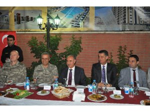Emniyet Genel Müdürü Mehmet Aktaş'a Şırnak'ta veda yemeği düzenlendi