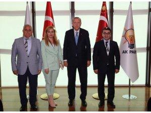AK Parti Batman İl Başkanı Akif Gür, Cumhurbaşkanı Erdoğan ile görüştü