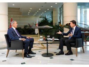 Savunma Sanayii Başkanı Demir, İhlas Medya Ankara Temsilcisi Yaşar'ın sorularını yanıtladı
