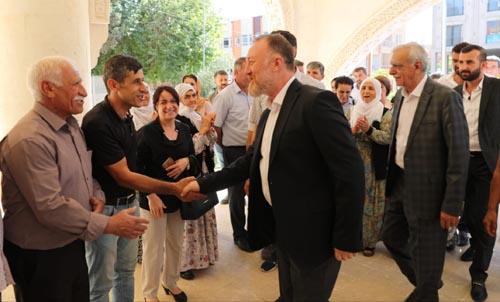 HDP Eş Genel Başkanı Temelli, Mardin'de