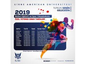 'Özel yetenek sınavları' 5 Ağustos'ta Antalya'da başlıyor