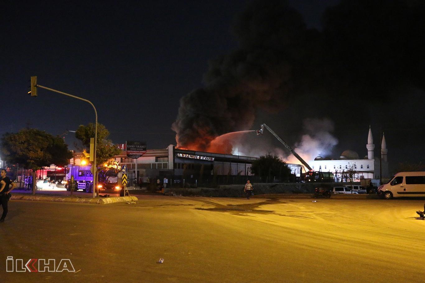 Şanlıurfadaki yangın kontrol altına alındı.