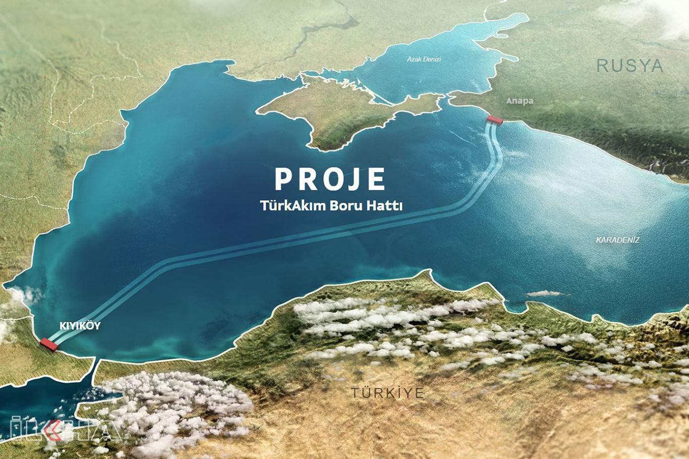 Rusyadan ilk gazın yıl sonunda Türkiyeye gönderilmesi hedefleniyor.