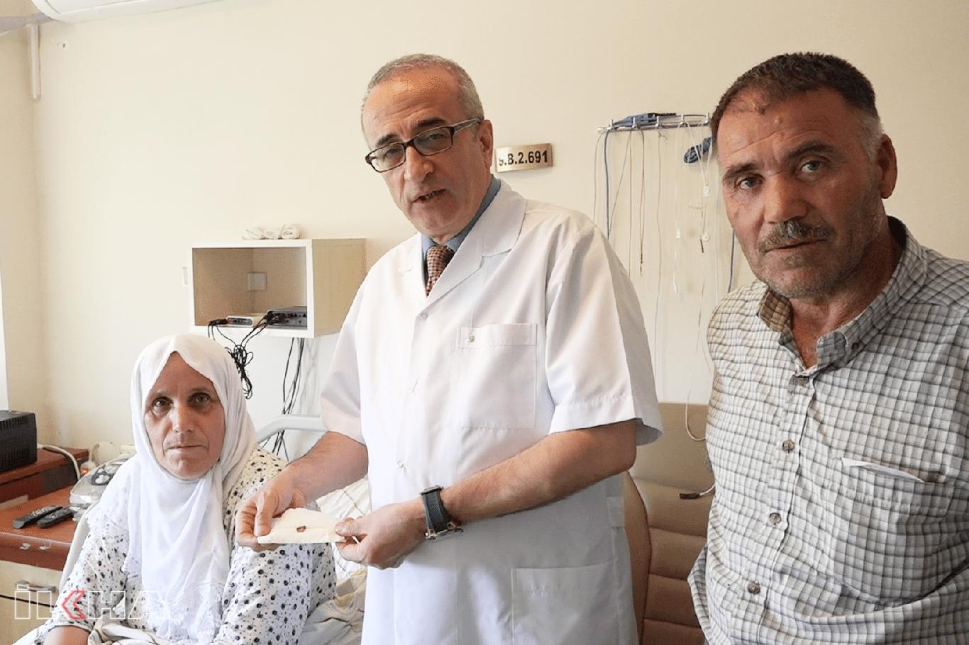 Akciğerinde kemik bulunan hasta 3 yıldan sonra sağlığına kavuştu.