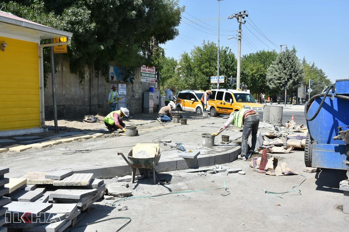 Sento Caddesi baştan sona yenileniyor.