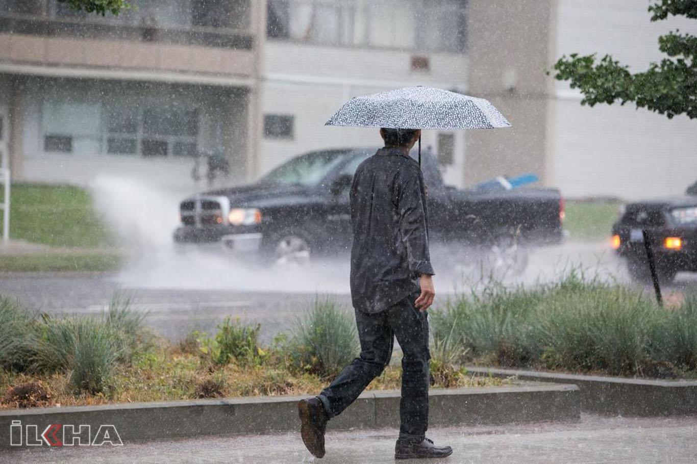 Karadeniz için kuvvetli yağış uyarısı.