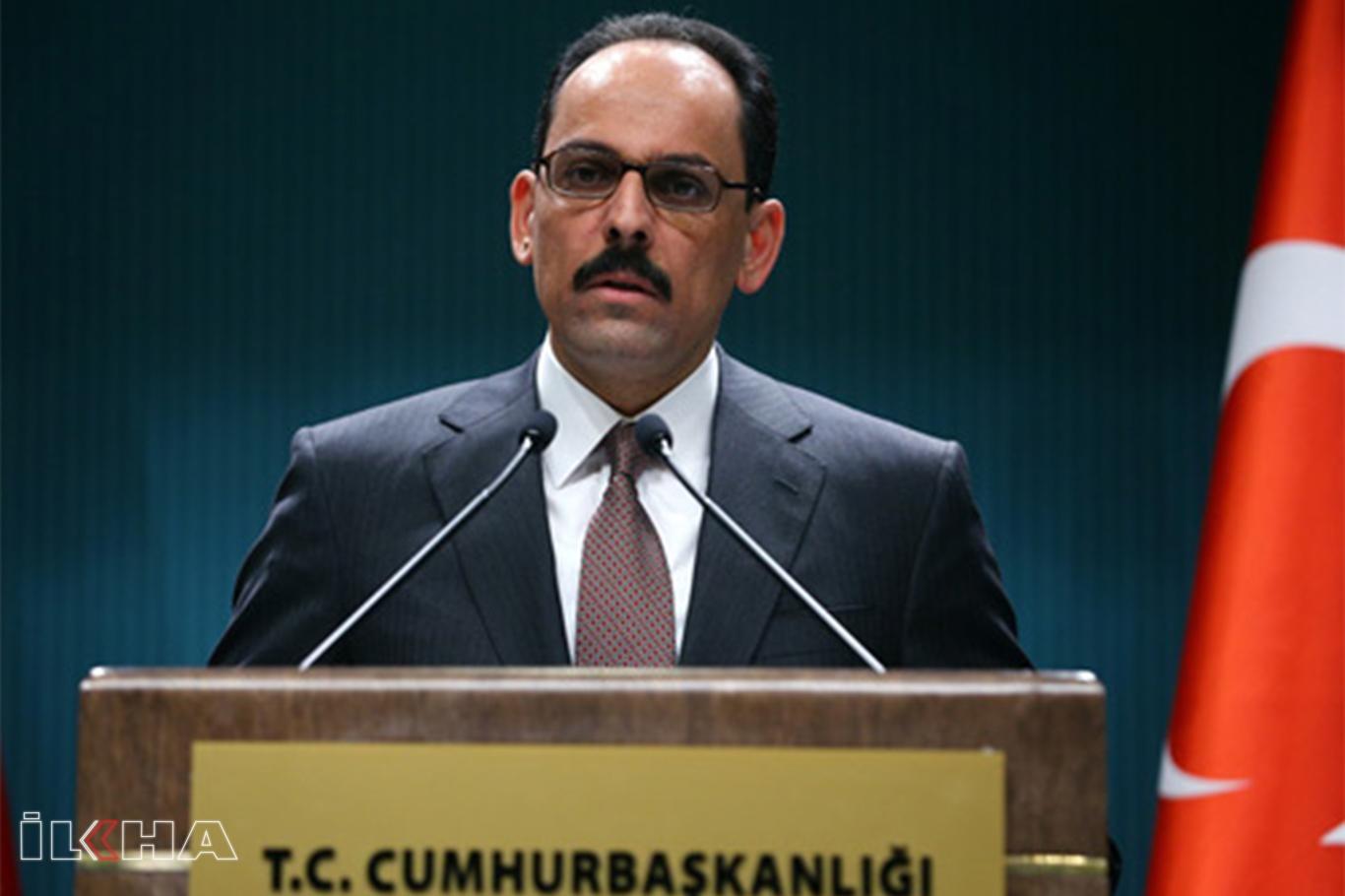 Cumhurbaşkanlığı Sözcüsü Kalın, Kabine Toplantısı sonrası açıklamalarda bulundu.