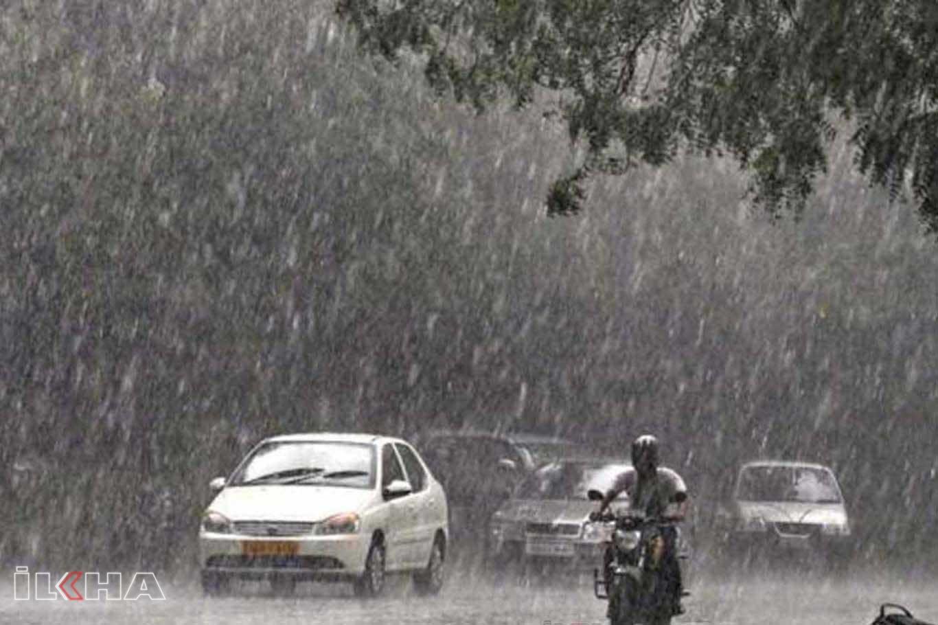 Meteorolojiden 6 il için kuvvetli yağış uyarısı.