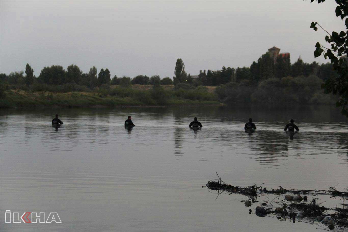 Dicle nehrinde aranan şahıs İzmirde bulundu.