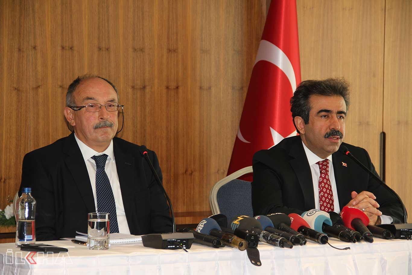 Dışişleri Bakanlığı Diyarbakır İrtibat Bürosu konulu basın toplantısı yapıldı.