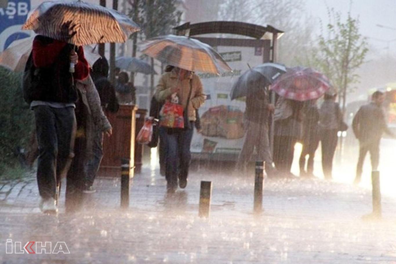 Meteorolojiden kuvvetli yağış ve rüzgâr uyarısı.
