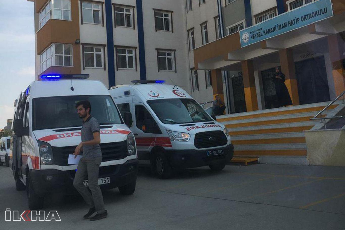 Şebeke suyundan çok sayıda öğrenci hastanelik oldu.