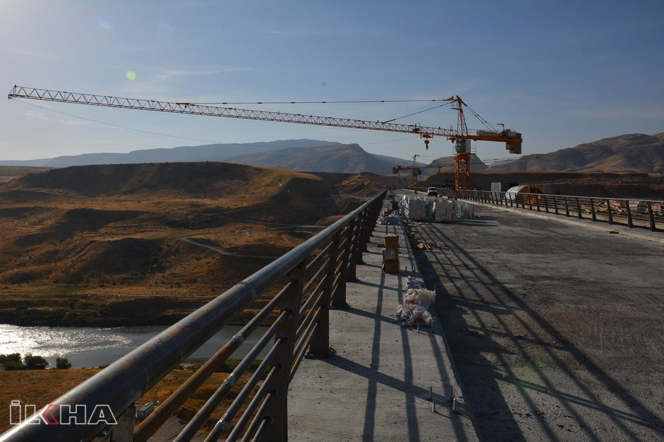 Türkiyenin 4üncü büyük köprüsü tamamlanmak üzere.