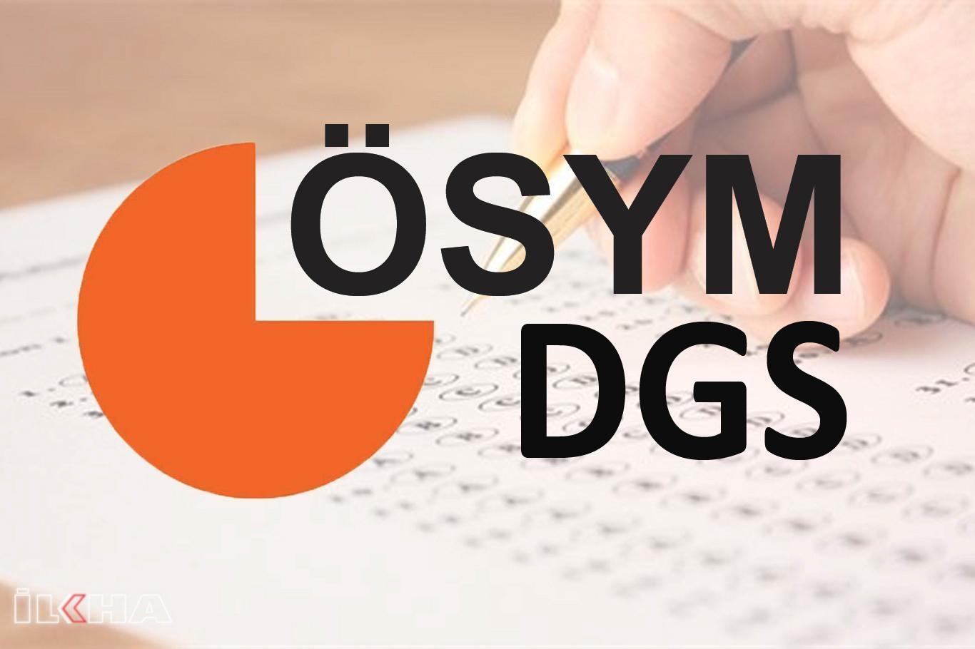 DGS ek yerleştirme sonuçları açıklandı.