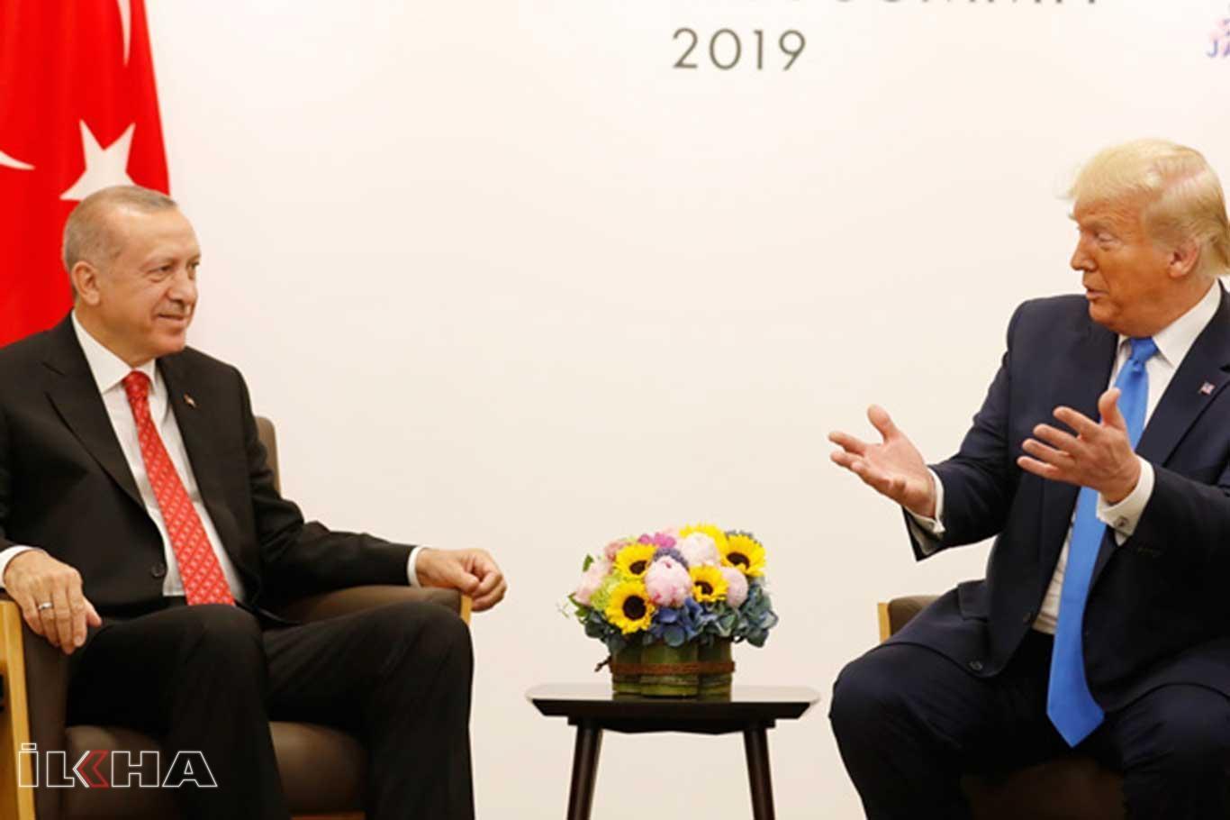 Trump: Erdoğanla telefon görüşmesi yaptım.