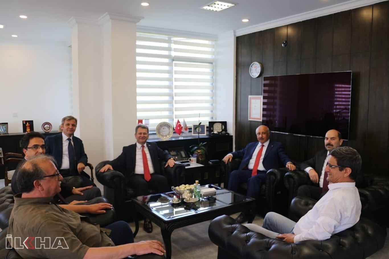 Rektör Durmuş'tan ÖSYM Başkanı Aygün'e ziyaret.