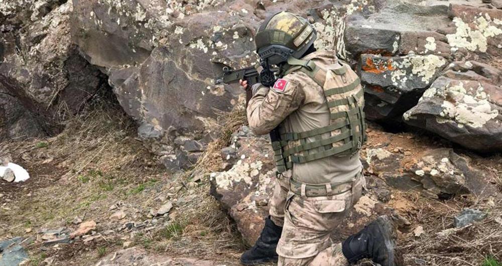 Mardin kırsalında çatışma