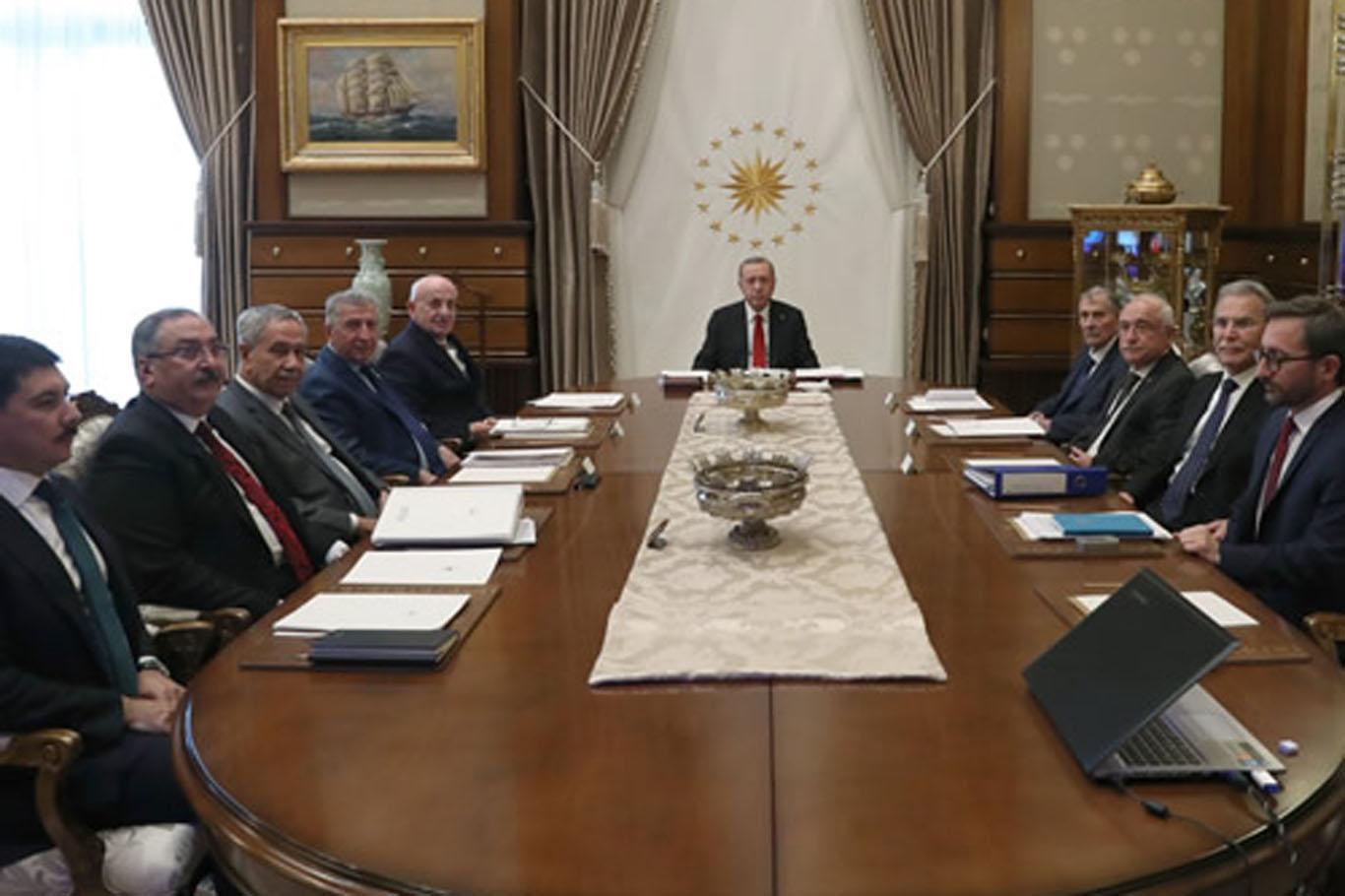 Altundan Yüksek İstişare Kurulu toplantısı sonrası açıklama.