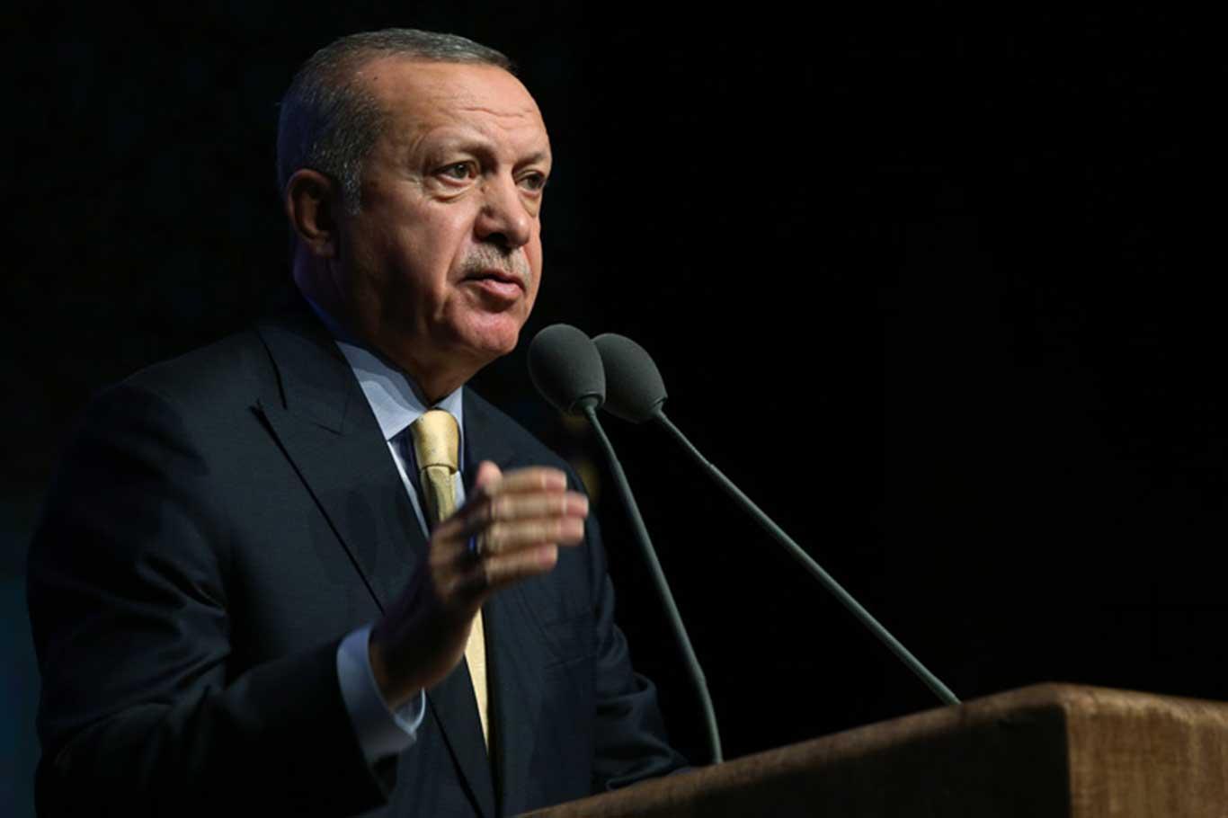 Cumhurbaşkanı Erdoğan dindar gençlik vurgusunu yineledi.