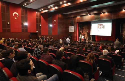 10 Kasım Atatürk'ü anma töreni düzenlendi