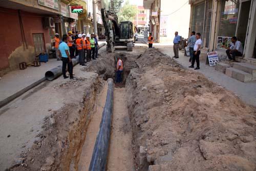 Kızıltepe İçme Suyu Projesi'nin yüzde 45'i tamamlandı