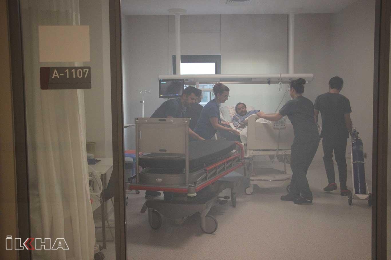 Hastanede olağan durumlara karşı tatbikat.