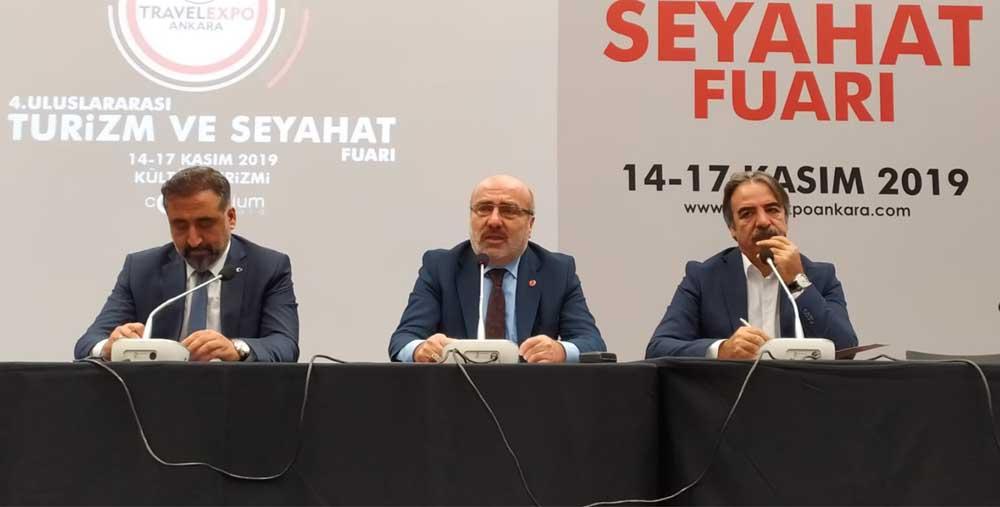 Rektör Özcoşardan Turizm İhtisas Üniversitesi Hedefine Vurgu
