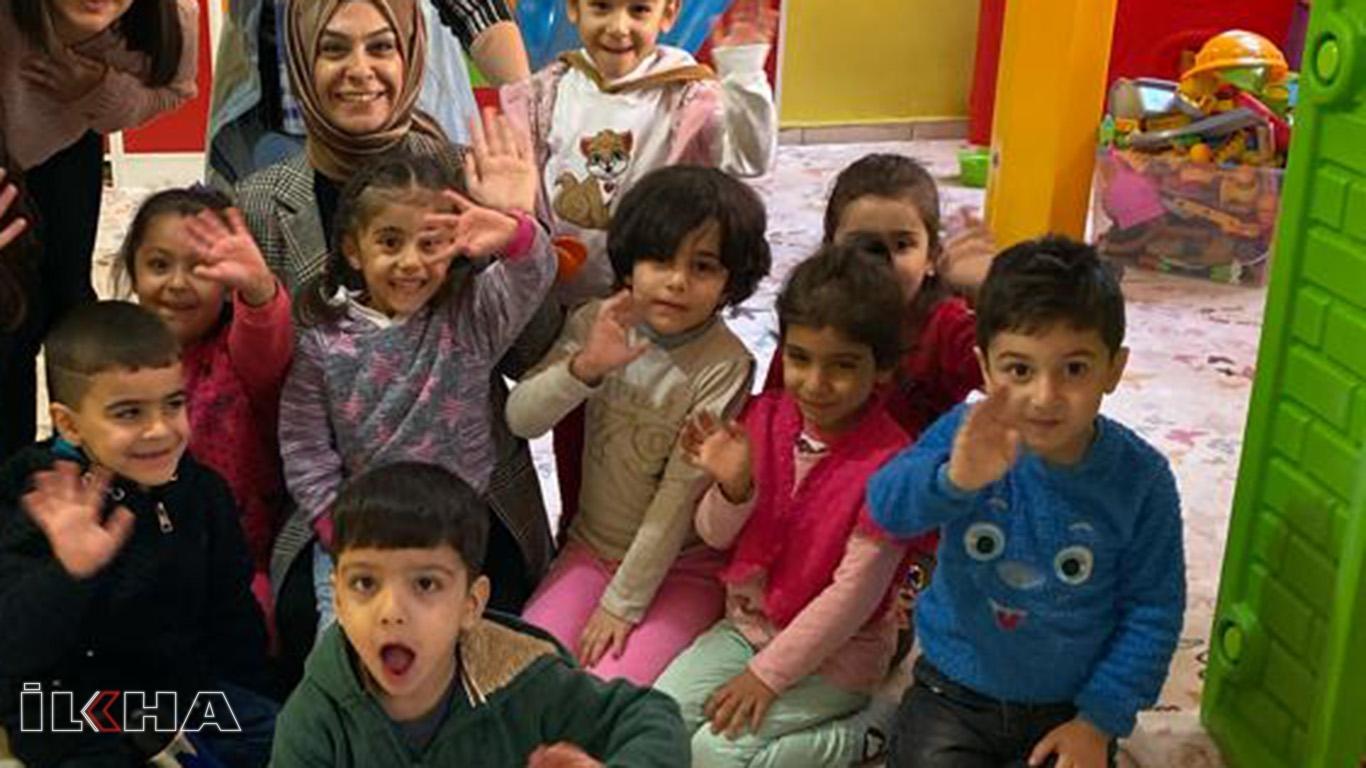 Bağlar Belediyesi, kadın ve çocuk merkezlerini denetledi.