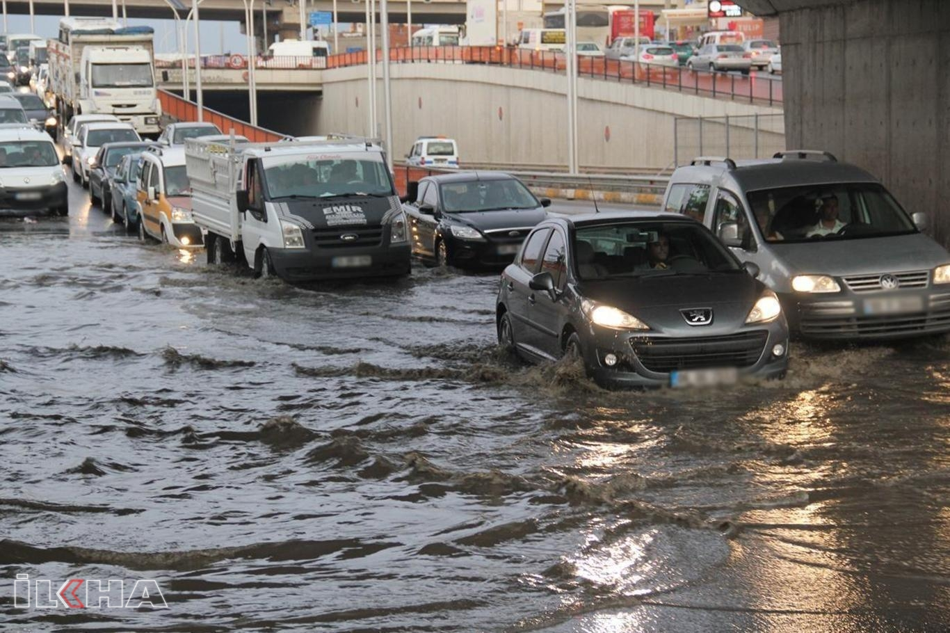 Meteorolojiden su baskınları uyarısı.