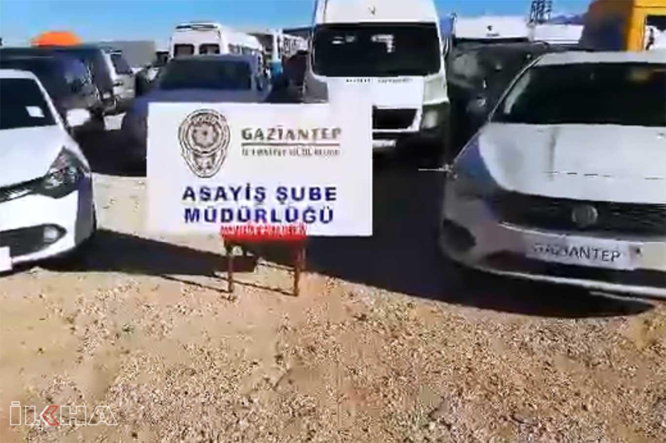 Çalıntı ve hacizli araçları satan şüpheliler yakalandı.