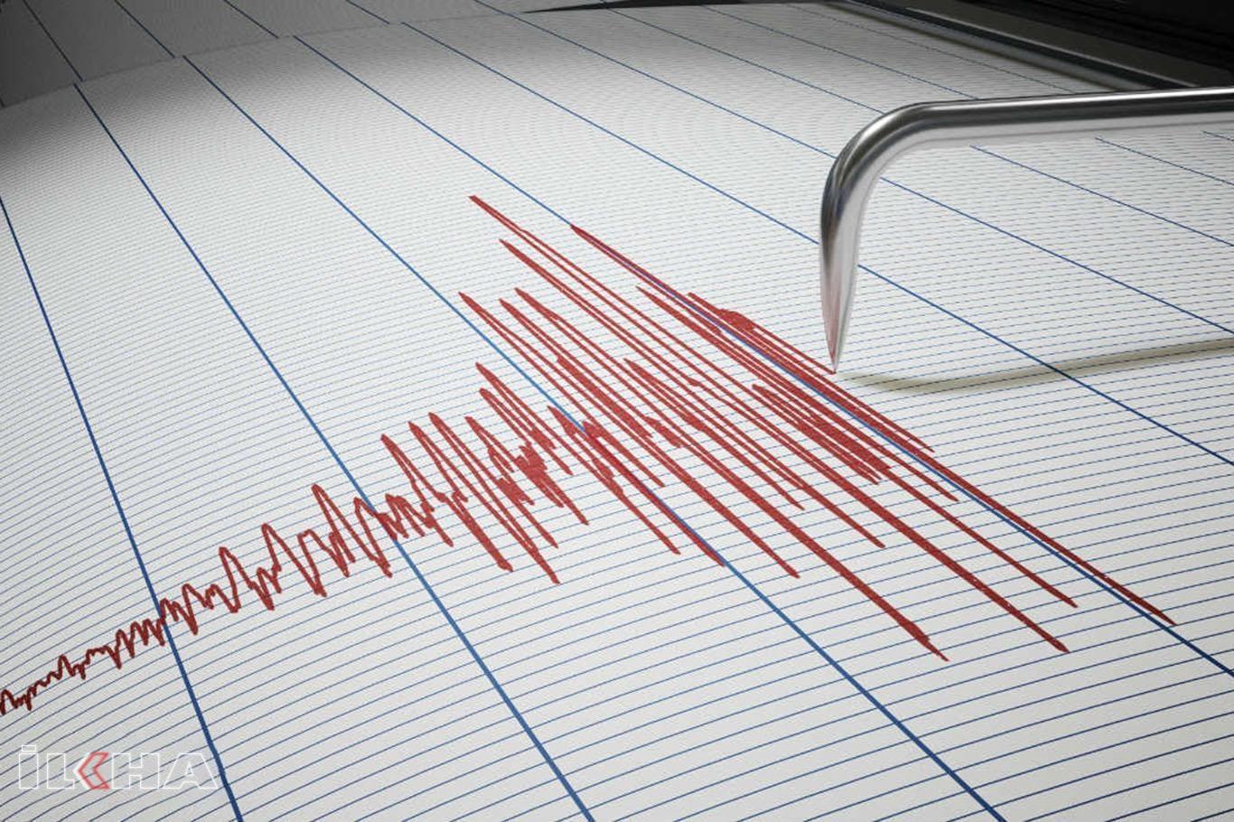 Muğlanın Datça ilçesinde 4,3 büyüklüğünde deprem.