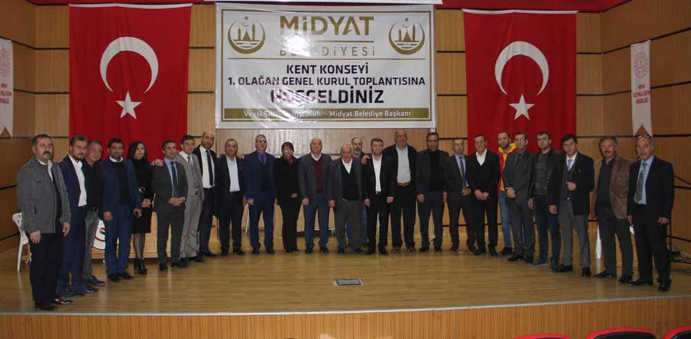 Midyat Kent Konseyi kuruldu