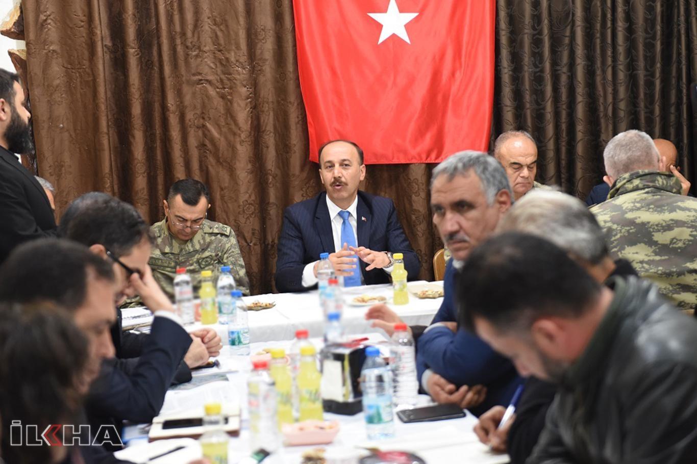 Vali Erin: Tel Abyad ve Resulayn'da 4 bin polis alınacak.