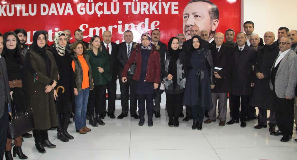 AK Parti Midyat Danışma Meclisi toplantısı gerçekleşti