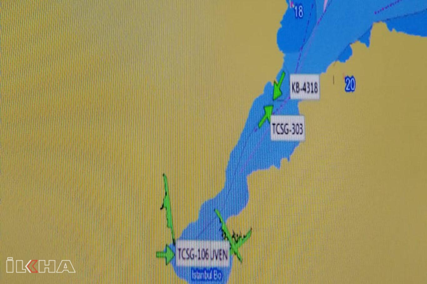 Karadenizde balıkçı teknesi ile tanker çarpıştı: 3 kayıp.