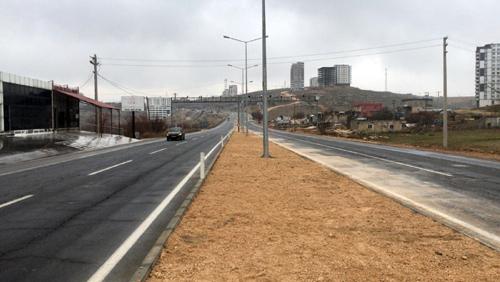 Mardin'in girişindeki çevre düzenlemeleri devam ediyor