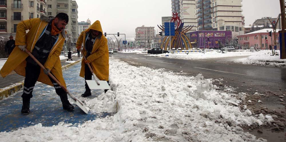 Kar ve buzlanma ile mücadele