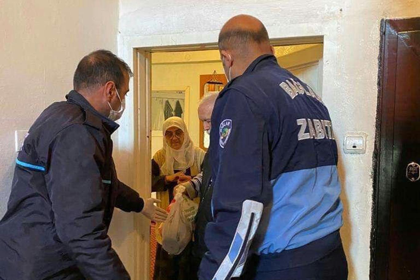 Diyarbakırda yaşlı vatandaşların ihtiyaçları karşılanıyor