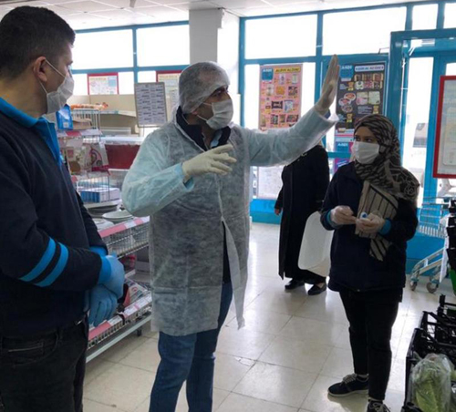 Mardin'de Gıda Denetimleri Artırıldı.