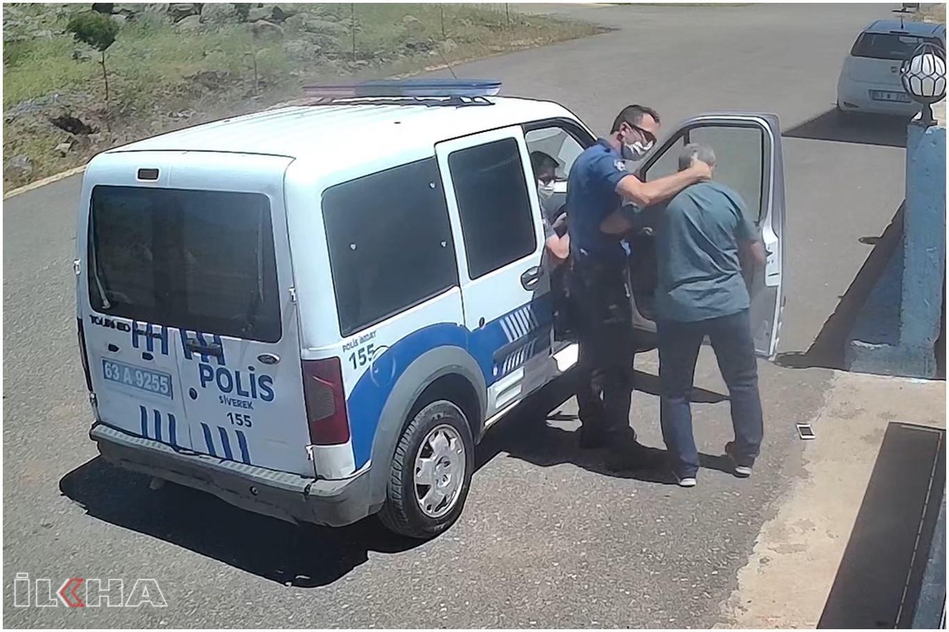 Maske takmadığı gerekçesiyle polisten azar işiten öğretmenden suç duyurusu.